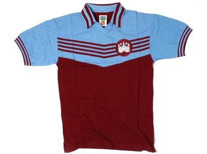 West Ham United 1976 European Cup Winners Cup Retro Football Shirt