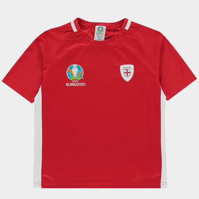 Euro 2020 England Poly T Shirt Juniors