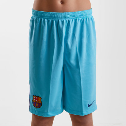 FC Barcelona 17/18 Kids Away Stadium Football Shorts