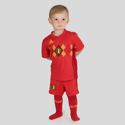 Belgium 2018 Home Mini Kids Replica Football Kit