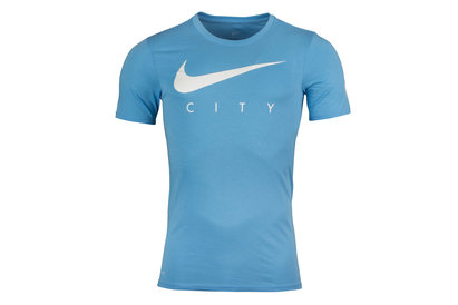 Manchester City 17/18 Dry Football Training T-Shirt