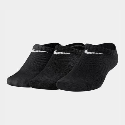 3 Pack No Show Socks Junior