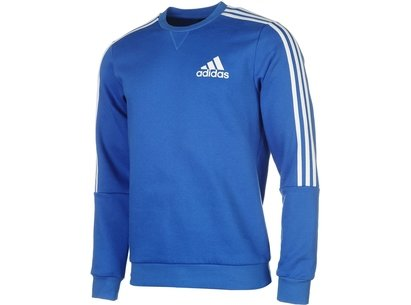 3 Stripes Crew Sweatshirt Mens