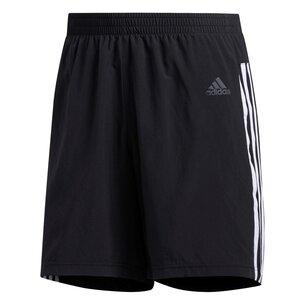 Mens Response Run It 3 Stripes Shorts