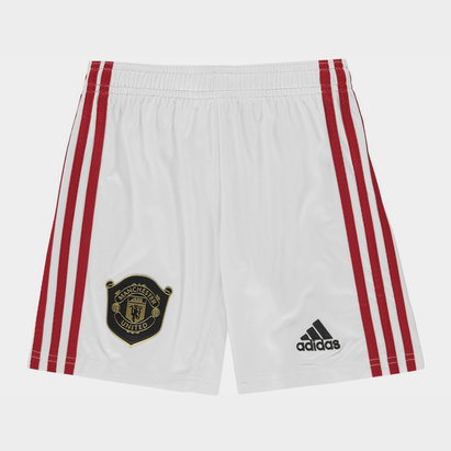 Manchester United 19/20 Kids Home Football Shorts