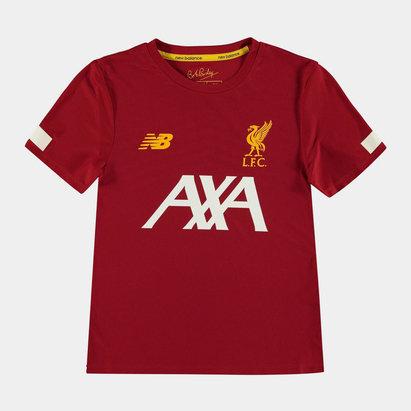 Liverpool 19/20 Kids Pre Match Football Shirt