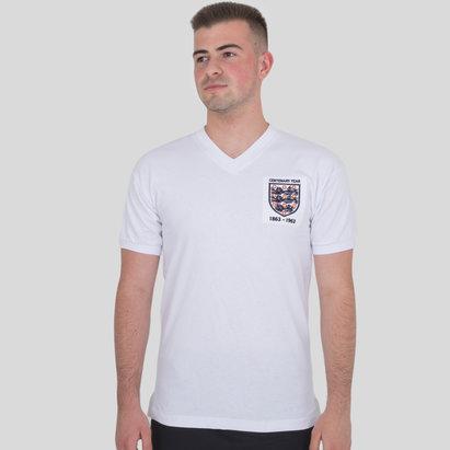 England 1963 Centenary S/S Retro Football Shirt