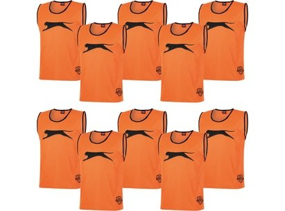 10 Pack Mesh Hi Viz Training Bibs Mens