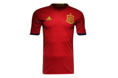 Spain EURO 2016 Home Kids S/S Replica Football Shirt