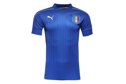 Italy EURO 2016 Home S/S Replica Football Shirt