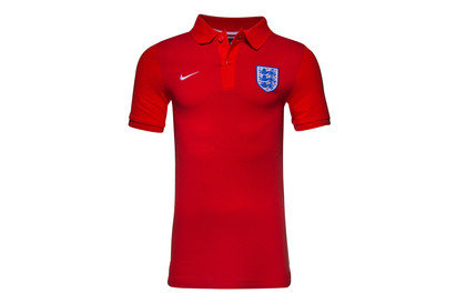 England 2016 Authentic Football Polo Shirt