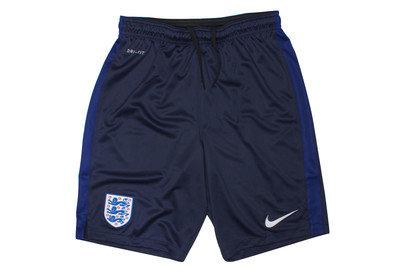England 2016 Strike Knit Replica Football Shorts