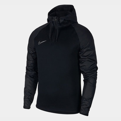 Academy Hooded Drill Top Mens