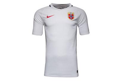 Norway 2016 Away Stadium S/S Football Shirt