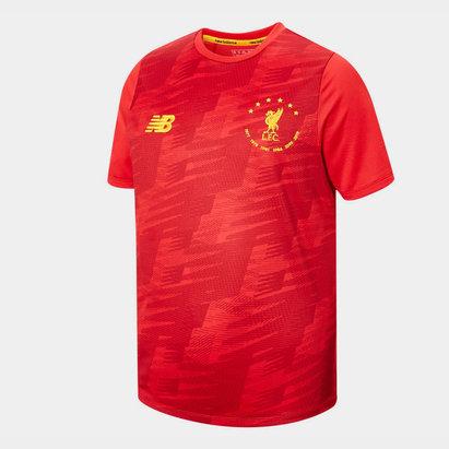 Liverpool 6 Times T-Shirt Mens