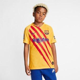 Barcelona Senyera Football Shirt 19/20 Junior