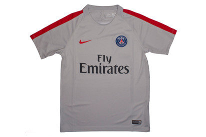 Paris Saint-Germain 2017 Kids Dry Squad S/S Training T-Shirt