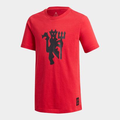 Manchester United DNA T Shirt 20/21 Kids