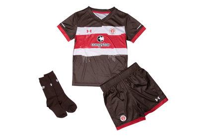 FC St Pauli 17/18 Kids Home Football Replica Kit