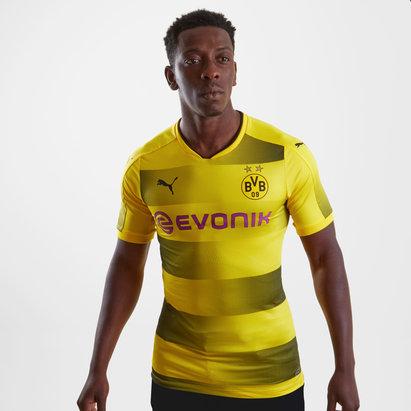 Borussia Dortmund 17/18 Home Players Authentic Football Shirt