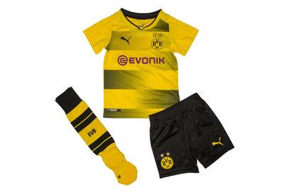 Borussia Dortmund 17/18 Home Mini Kids Football Kit