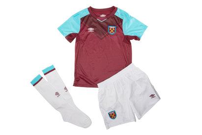 West Ham United 17/18 Home Kids Replica Football Kit