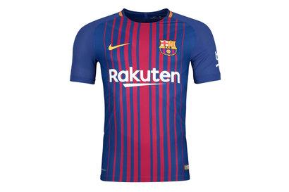 FC Barcelona 17/18 Home Players Match Day S/S Football Shirt