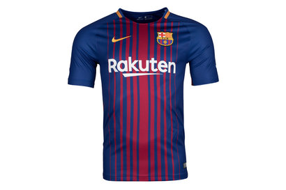 FC Barcelona 17/18 Home Replica S/S Football Shirt