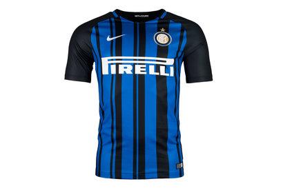 Inter Milan 17/18 Home Replica S/S Football Shirt