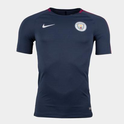 Manchester City 17/18 Squad Football Training T-Shirt