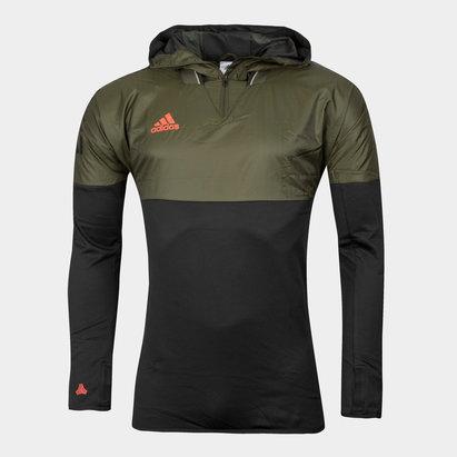 Tango Football Hybrid Hooded Training Top