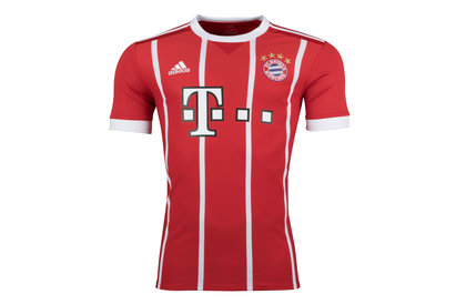 Bayern Munich 17/18 Home S/S Replica Football Shirt