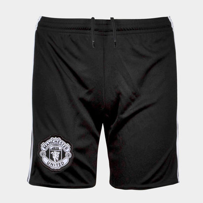 Manchester United 17/18 Away Youth Football Shorts