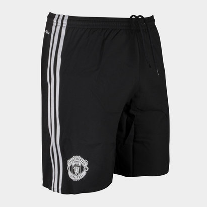Manchester United 17/18 Players Authentic Away Football Shorts
