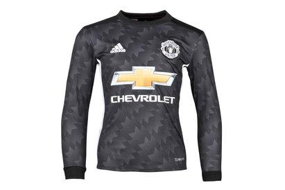 Manchester United 17/18 Away Kids L/S Replica Football Shirt