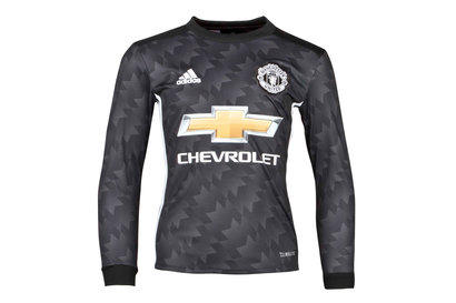 Manchester United 17/18 Away Youth L/S Replica Football Shirt