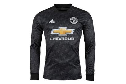 Manchester United 17/18 Away L/S Replica Football Shirt