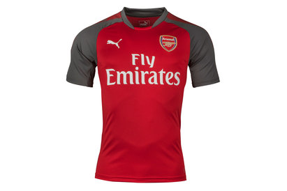 Arsenal 17/18 Players S/S Football Training Shirt