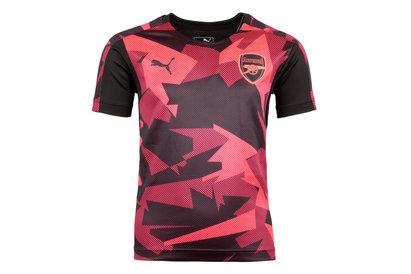 Arsenal 17/18 Kids Stadium S/S Football Training Shirt