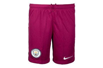Manchester City 17/18 Kids Away Stadium Football Shorts