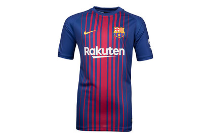 FC Barcelona 17/18 Home Kids Supporters Football Shirt