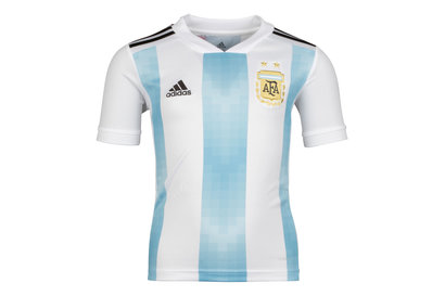 Argentina 2018 Youth Home S/S Football Shirt