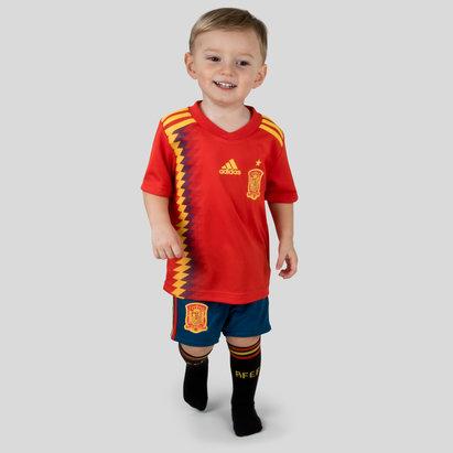 Spain 2018 Home Mini Kids Replica Football Kit