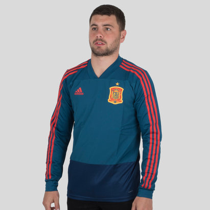 Spain 2018 L/S Football Training Top