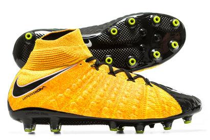 Hypervenom Phantom III Dynamic Fit AG Pro Football Boots