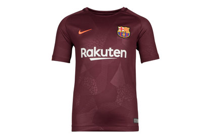 FC Barcelona 17/18 Kids 3rd Replica S/S Football Shirt