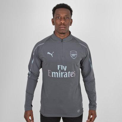 Arsenal 18/19 Players 1/4 Zip Football Training Jacket