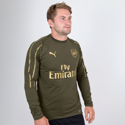 Arsenal 18/19 Players Football Training Sweatshirt
