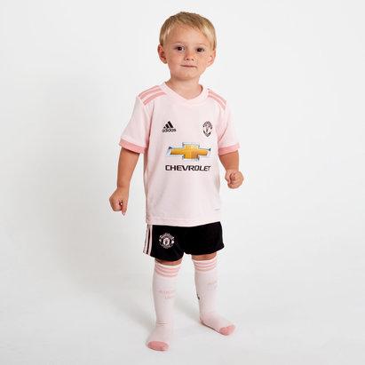 Manchester United 18/19 Away Mini Kids Replica Football Kit
