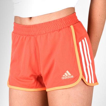 D2M Ladies 3 Stripes Performance Shorts
